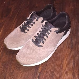 Cole Haan leather and suede sneakers